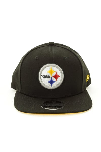 New Era Pittsburgh Steelers 9FIFTY Original Fit Snapback Black