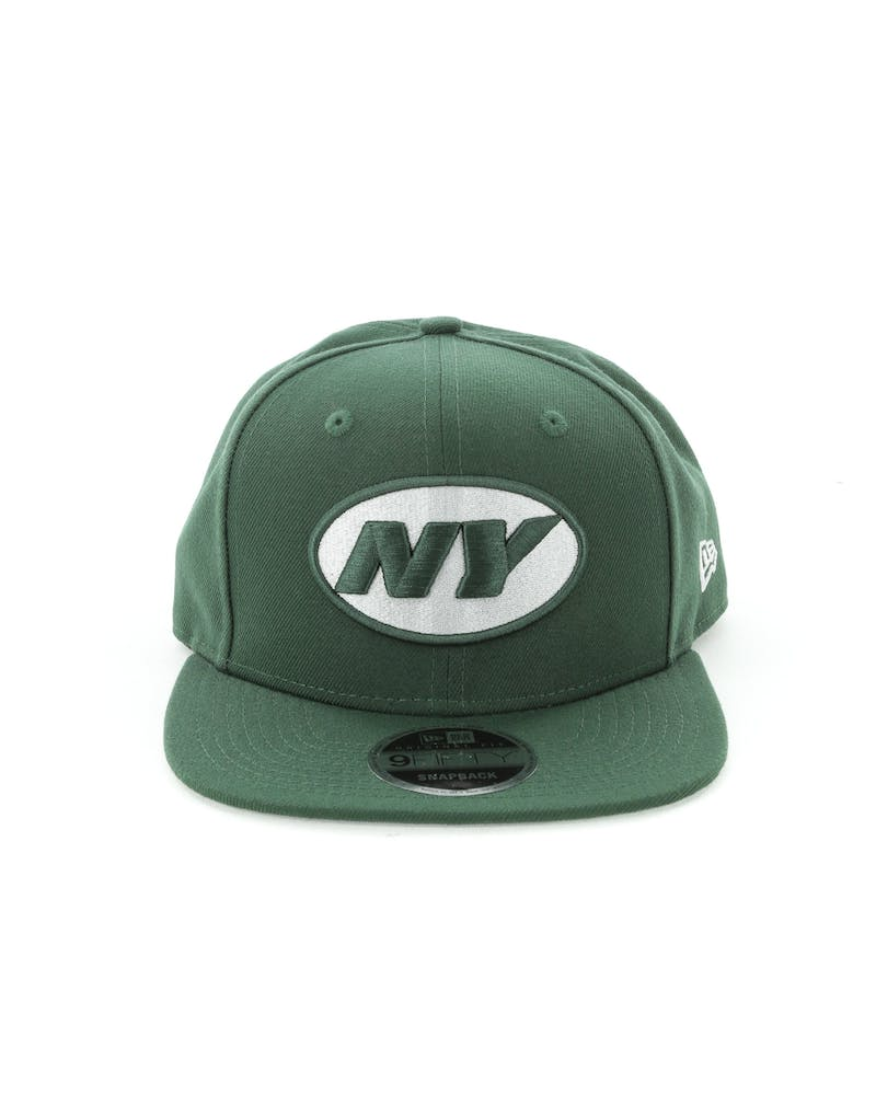 New Era New York Jets 9FIFTY Original Fit Snapback Dark Green