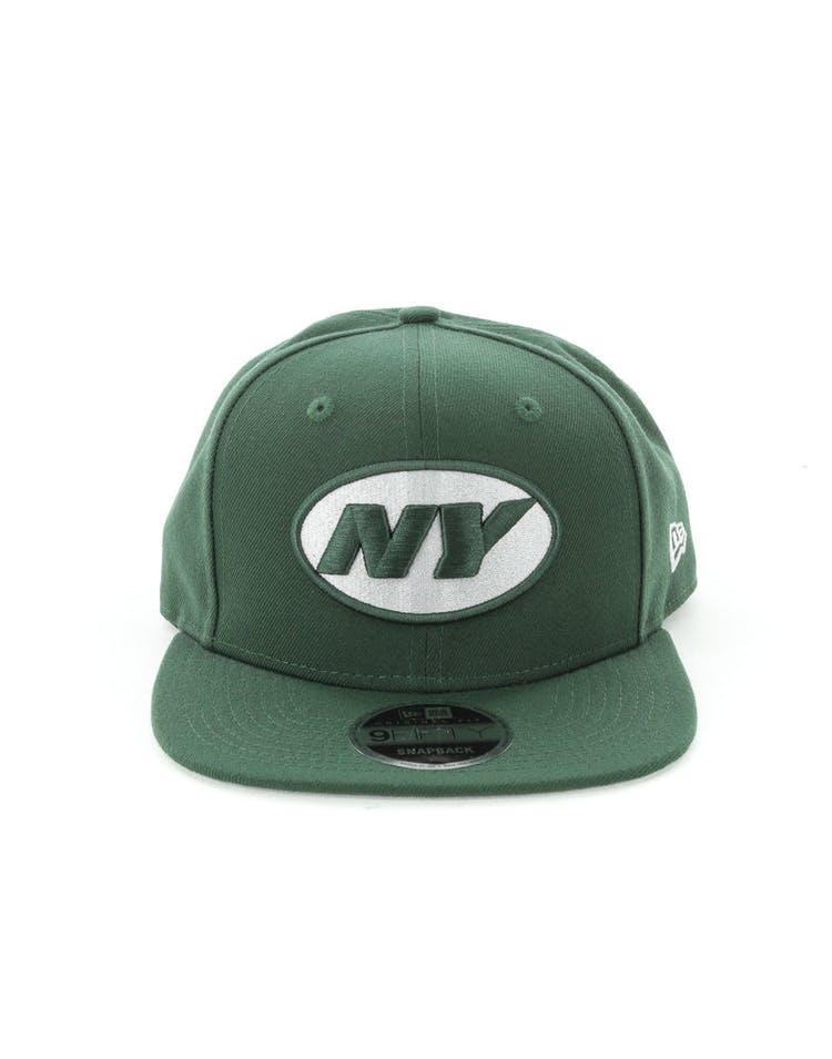 sneakers for cheap 77edb 9659d New Era New York Jets 9FIFTY Original Fit Snapback Dark Green