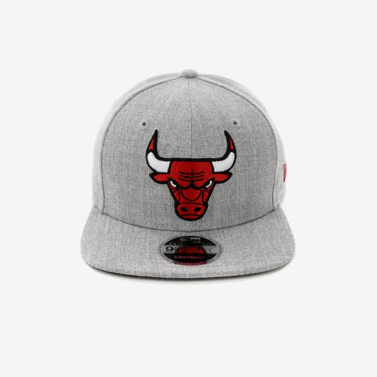 d84cb05c815 New Era Chicago Bulls 9FIFTY Original Fit Snapback Heather Grey – Culture  Kings