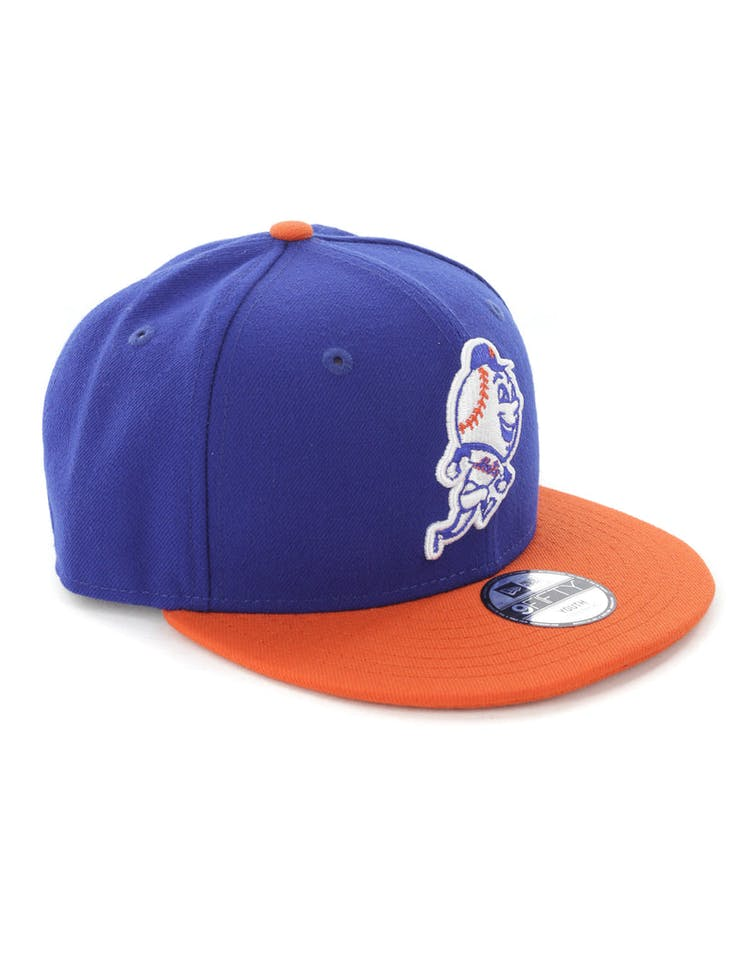 huge discount f7b18 09a1e New Era Youth New York Mets 9FIFTY Snapback Royal Orange