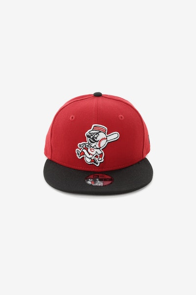 New Era Youth Cincinnati Reds 950 Snapback Scarlet