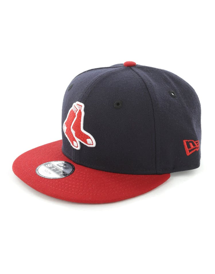 check out 05814 f2613 New Era Youth Boston Red Sox 9FIFTY Snapback Navy