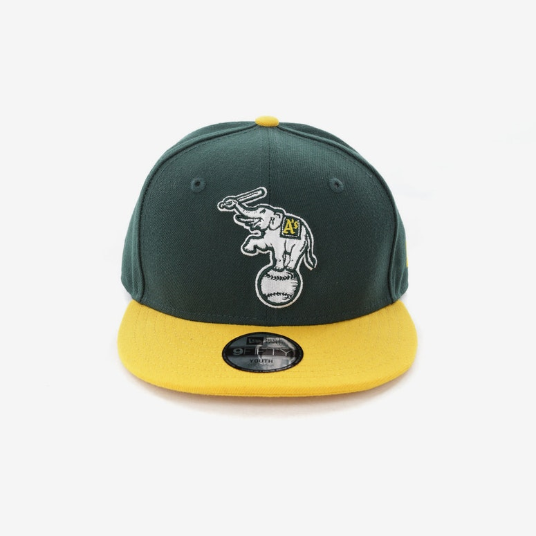 04c9683a68a New Era Youth Oakland Athletics 9FIFTY Snapback Dark Green – Culture Kings