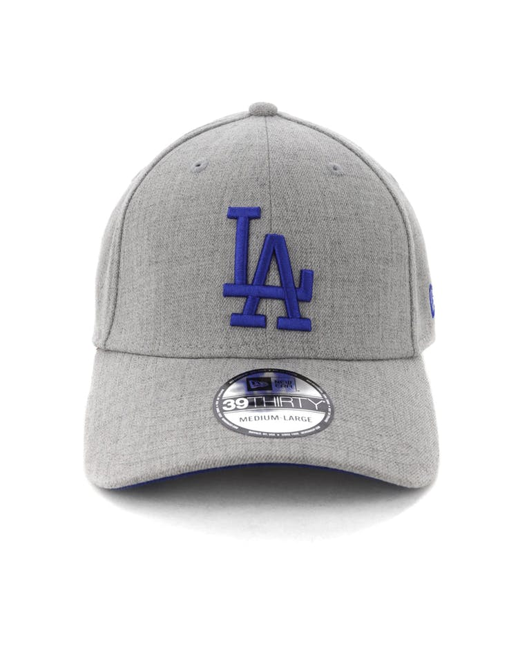 huge discount e8dfc 91b26 New Era Los Angeles Dodgers 3930 Stretch Fit Heather Grey – Culture Kings