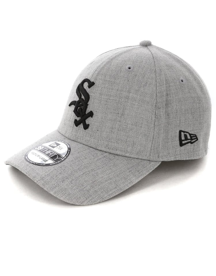 b2ecce029e4166 New Era Chicago White Sox 3930 Stretch Fit Heather Grey – Culture Kings