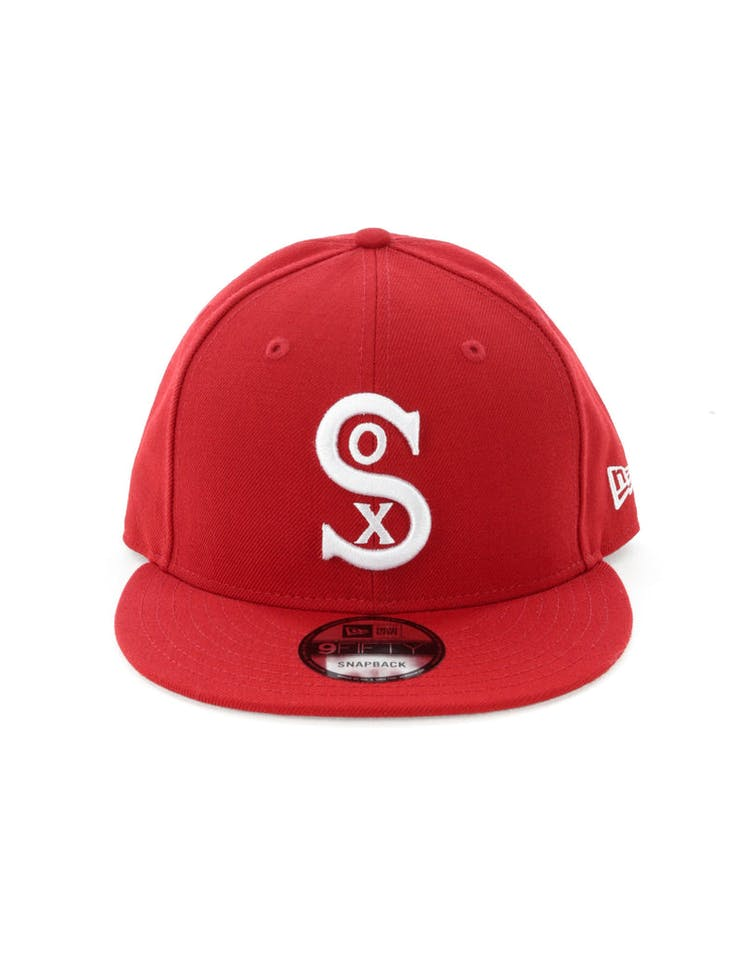 new styles fdd99 af41f New Era Chicago White Sox 9FIFTY Snapback Scarlet – Culture Kings