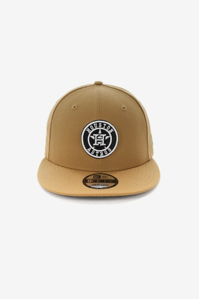 New Era Houston Astros 950 Snapback Wheat
