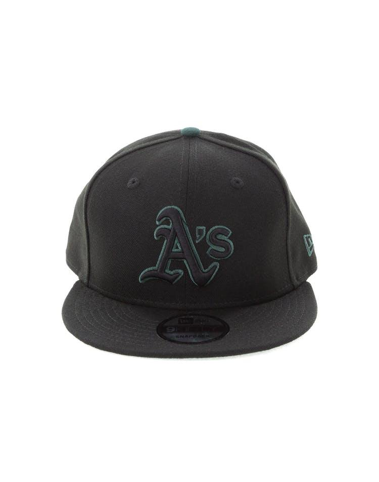 best website 402db 97480 New Era Oakland Athletics 9FIFTY Snapback Black Green – Culture Kings