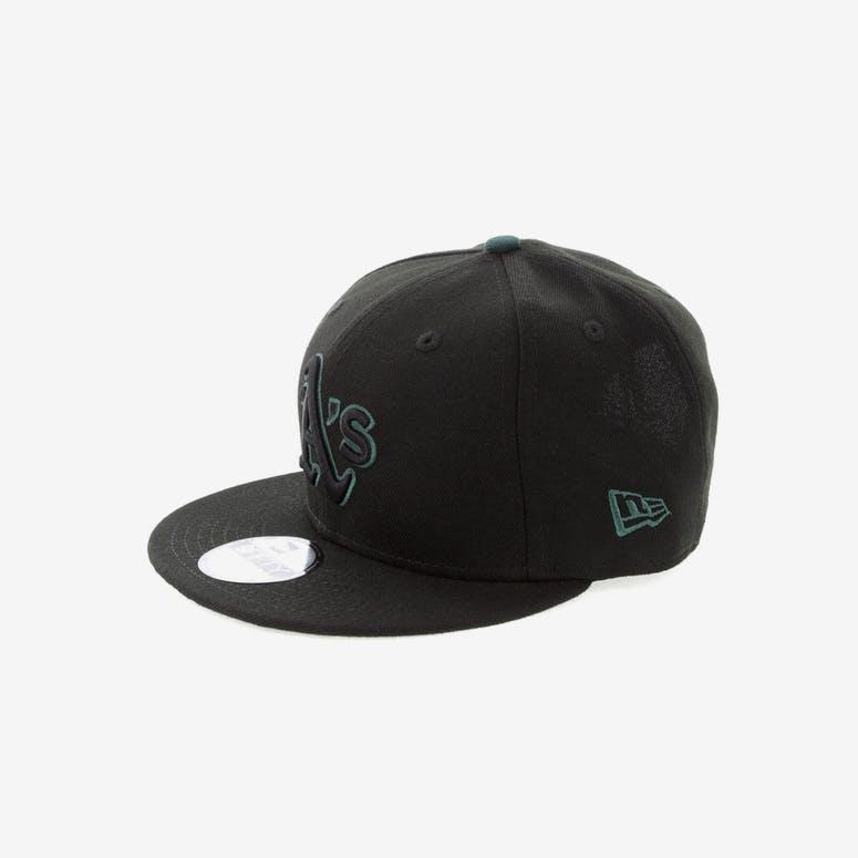 1c7dcdb46ce New Era Oakland Athletics 9FIFTY Snapback Black Green – Culture Kings