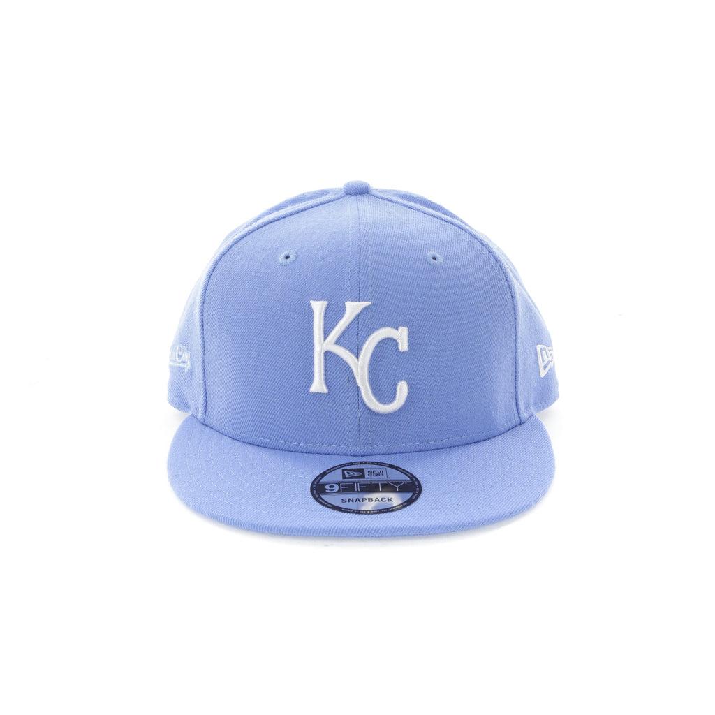 buy online 44f7e 4a234 ... new arrivals new era kansas city royals 9fifty snapback sky blue 271ad  1ea3a