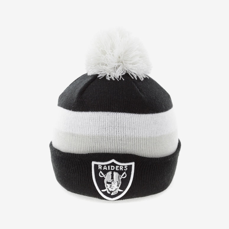 6dbbe6c56f2 New Era Oakland Raiders Beanie Black – Culture Kings