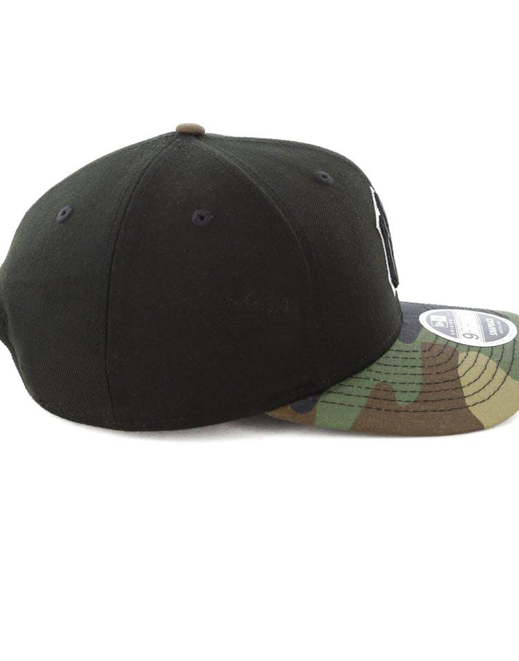 timeless design e9273 1bb22 New Era New York Yankees 9FIFTY Original Fit Precurve Snapback Black Camo
