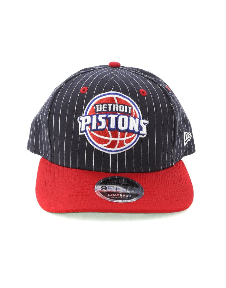 b160100d805f1 New Era Detroit Pistons 9FIFTY Original Fit Snapback Black – Culture Kings