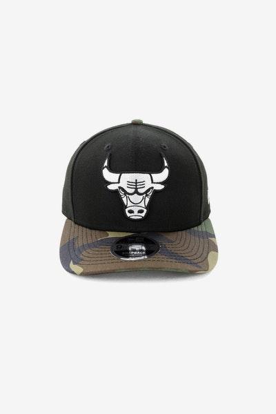 513168bbe20 New Era Chicago Bulls 9FIFTY Original Fit Precurve Snapback Black Camo