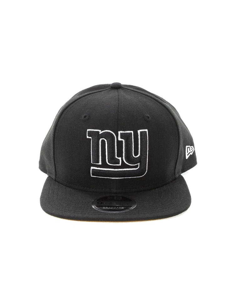b4070ac6955bf8 New Era New York Giants 9FIFTY Original Fit Snapback Black/White – Culture  Kings