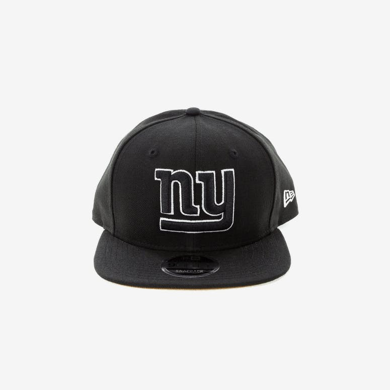 5d730faaa New Era New York Giants 9FIFTY Original Fit Snapback Black White – Culture  Kings
