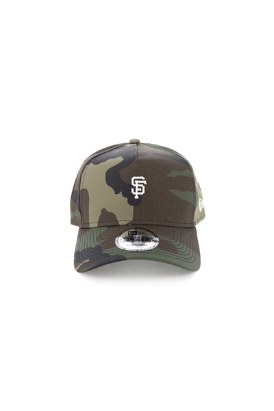 New Era San Francisco Giants TPU 940 A-Frame Snapback Camo