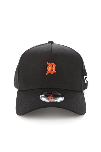 new styles 80b98 3fe78 New Era Detroit Tigers TPU 9FORTY A-Frame Snapback Black