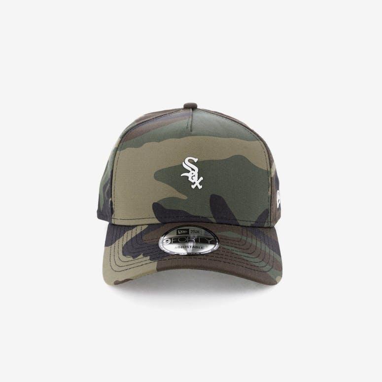 New Era Chicago White Sox TPU 9FORTY A-Frame Snapback Camo – Culture Kings 43d00f8ec5d