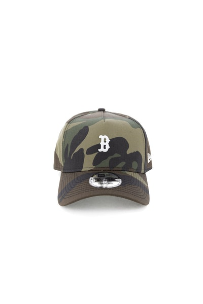 New Era Boston Red Sox TPU 940 A-Frame Snapback Camo
