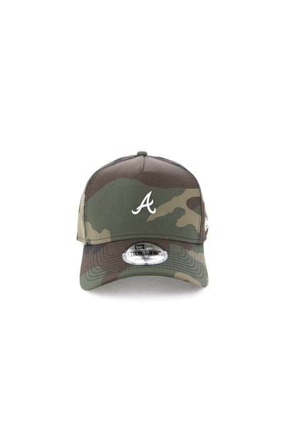 New Era Atlanta Braves TPU 940 A-Frame Snapback Camo