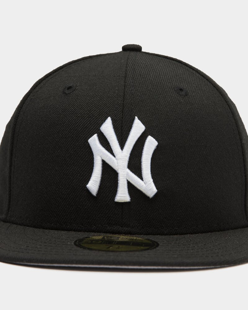 New Era New York Yankees 59FIFTY Grey Undervisor Fitted Black