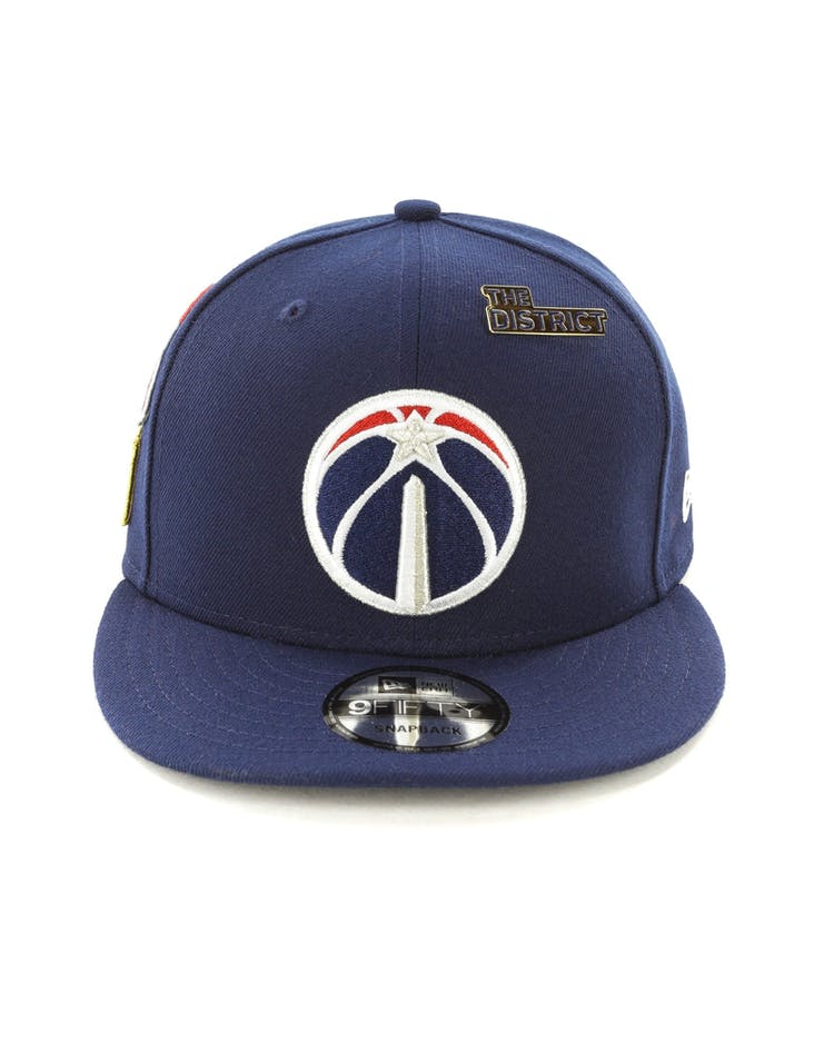 new styles 229a7 18a0a New Era Wizards 9FIFTY OTC Draft Snapback Navy – Culture Kings
