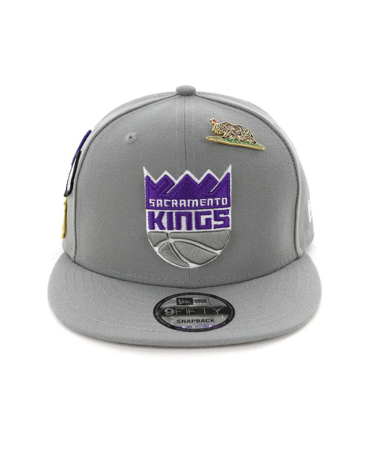 finest selection c0d80 c8748 New Era Sacramento Kings 9FIFTY OTC Draft Snapback Grey – Culture Kings