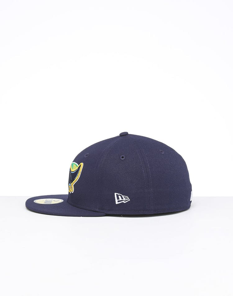 c62dc532c New Era Tampa Bay Rays 59FIFTY Fitted Blue/OTC