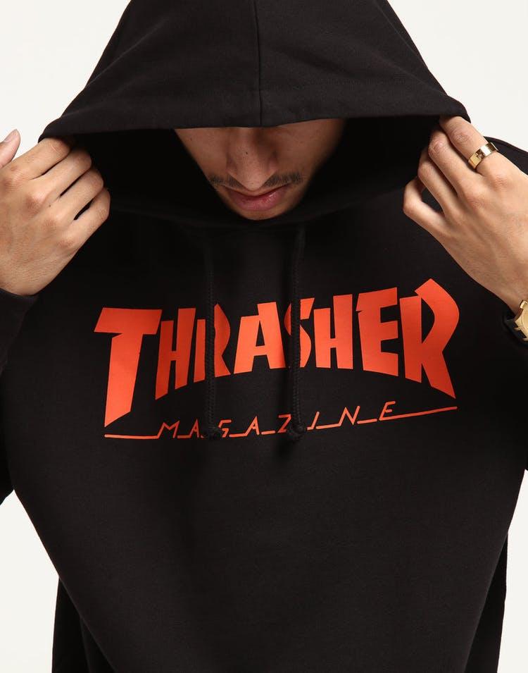 98ee73f9 Thrasher 47 Crosstown Striker Icon Hood Black/Orange