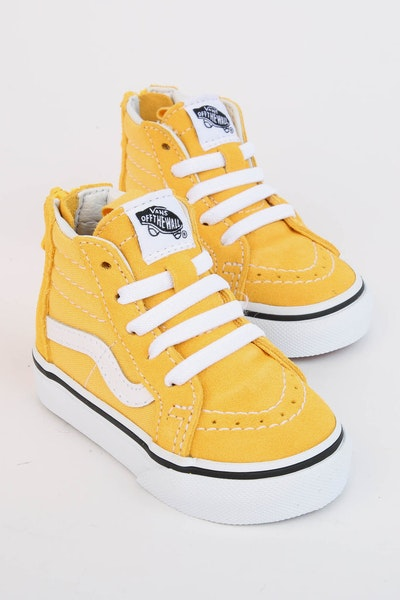 Vans SK8-HI ZIP Yellow/White