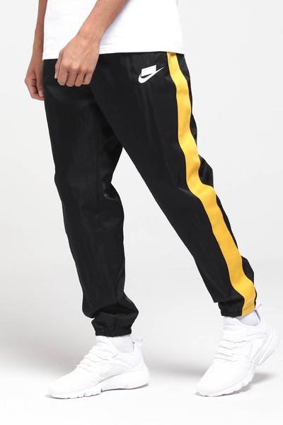 5adab1e4f63ae5 Nike NSW Pants Black Yellow White