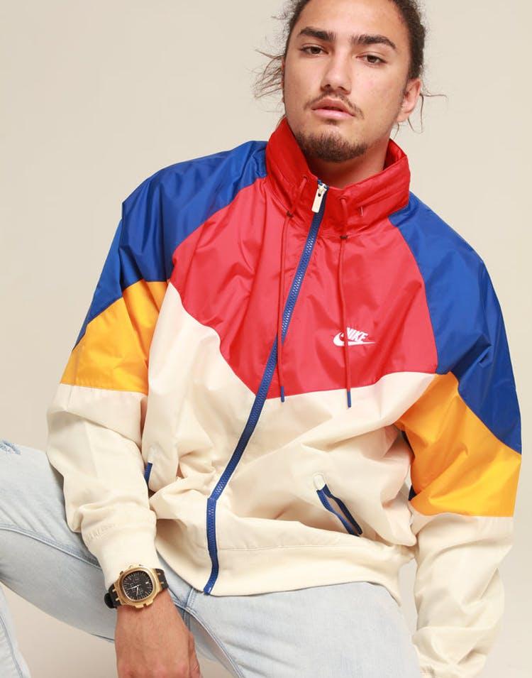 0cb42dce8 Nike Sportswear Windrunner Cream/Red/White