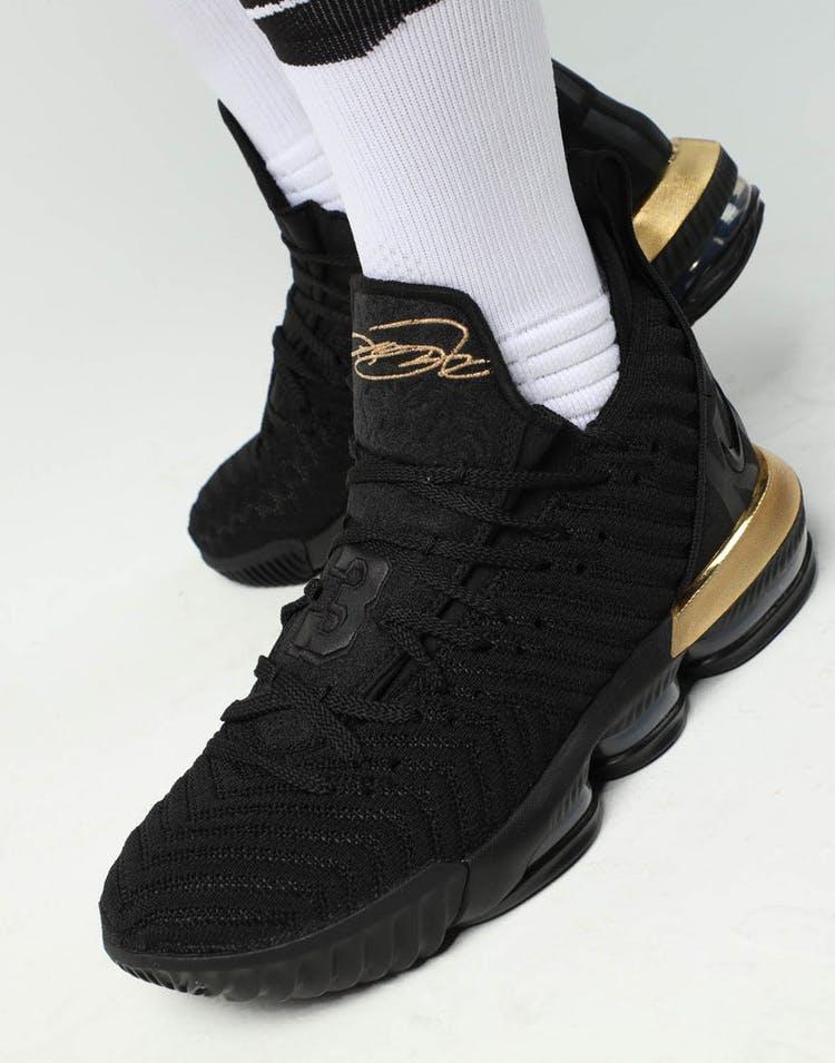 ababeb4ace42 Nike LeBron XVI Black Gold – Culture Kings