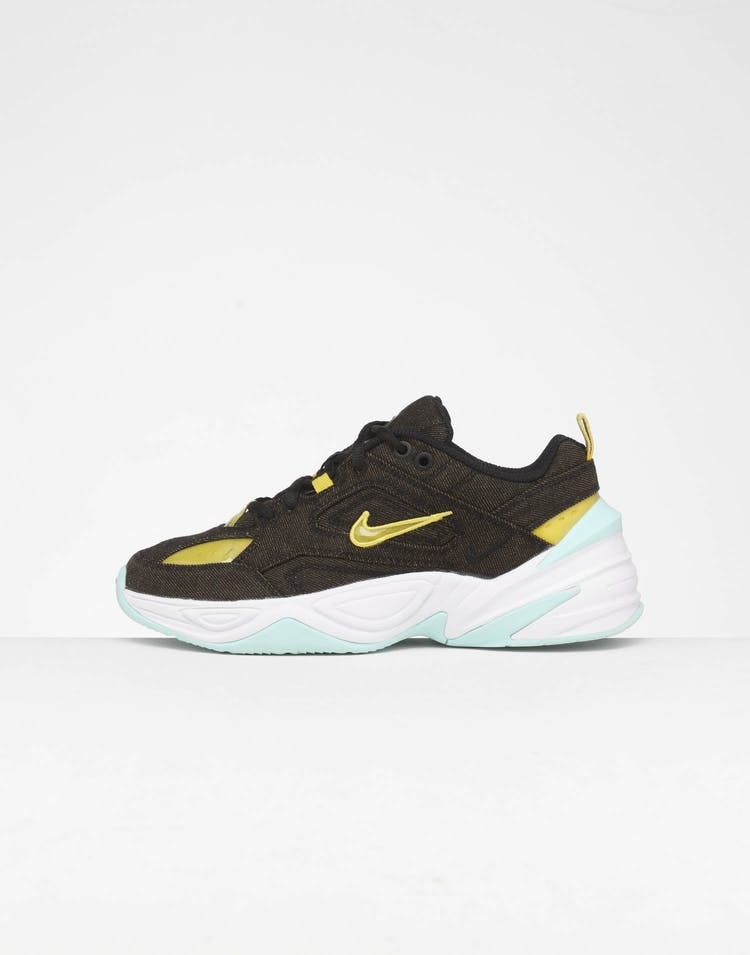 crazy price best choice new arrivals Nike Women's M2K Tekno LX Black/Bright Citron/Teal | Culture Kings