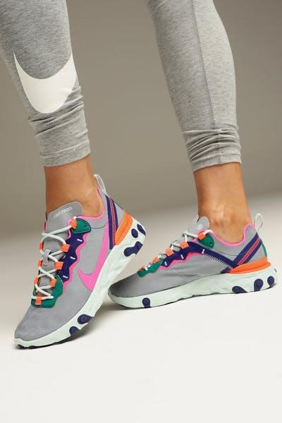 ed2adfe45f24 Nike Women s React Element 55 Multi-Coloured