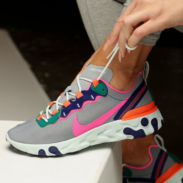 Nike Women's React Element 55 Multi-Coloured