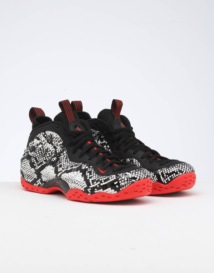the latest be5f0 1ce59 Nike Air Foamposite 1 Sail Black Red