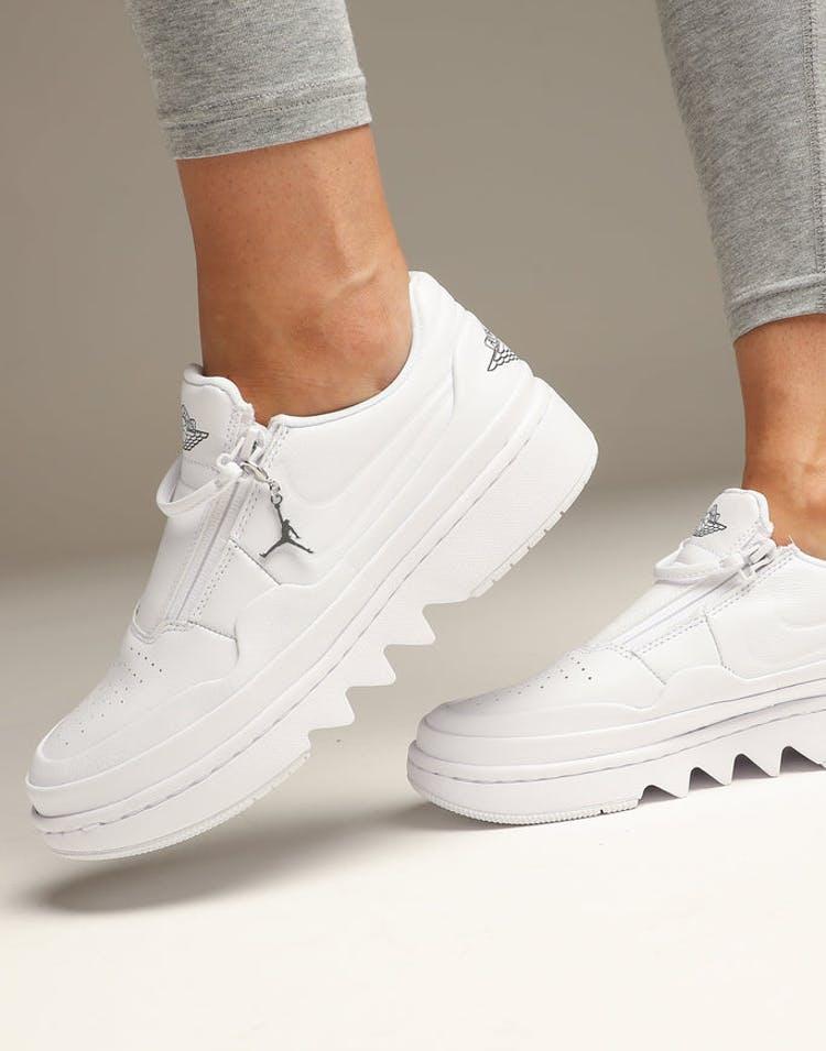 cute sleek vast selection Jordan Women's Air Jordan 1 Jester XX Low White/Black/White