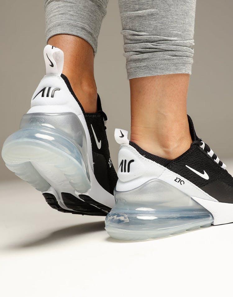 shop best coupon code Nike Women's Nike Air Max 270 Black/White/White