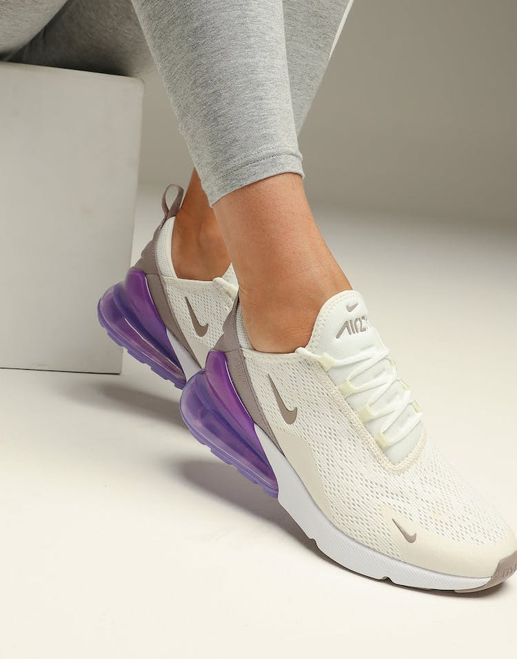 timeless design c5414 93f43 Nike Women's Air Max 270 Sail/Space Purple
