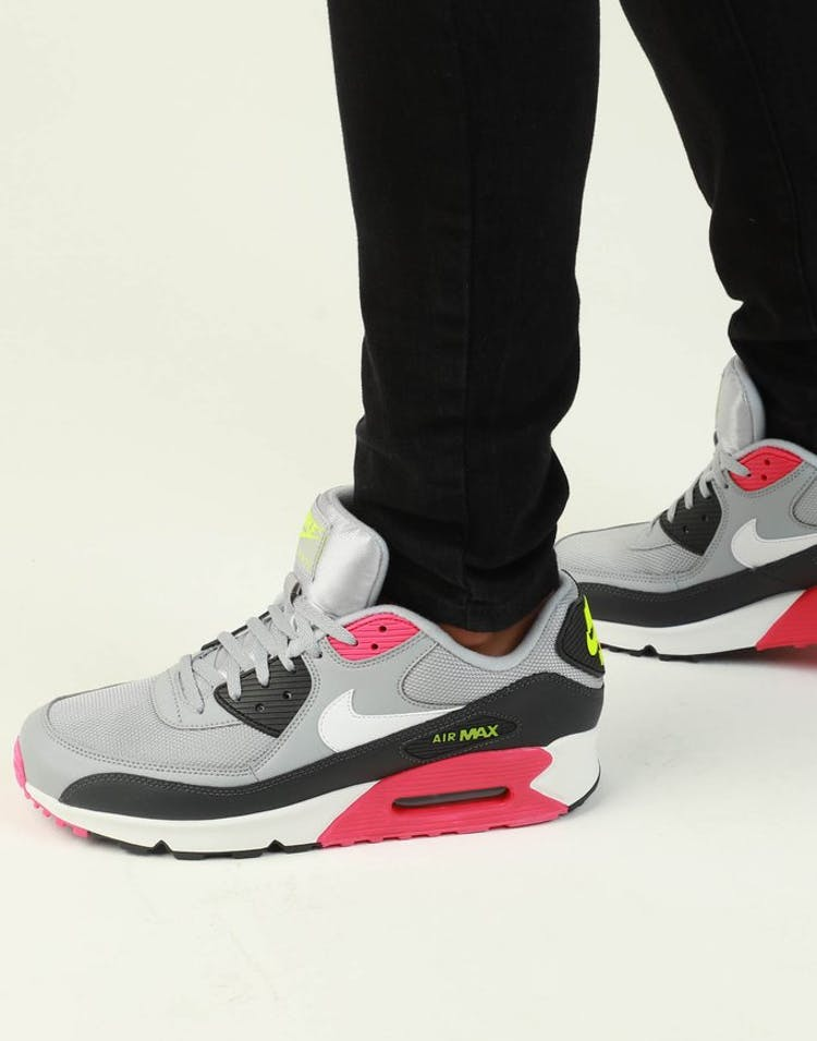 3854950e6aa Nike Air Max  90 Essential Grey Pink White – Culture Kings