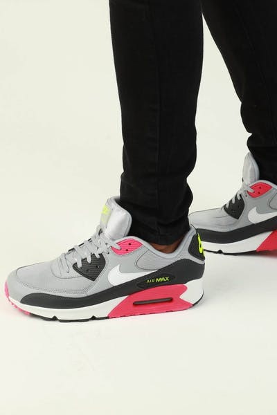 cb8989d768b1 Nike Air Max  90 Essential Grey Pink White