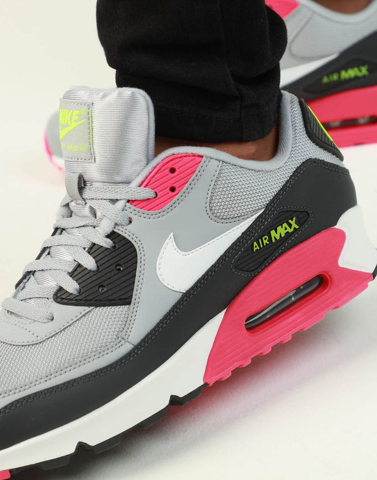 cheaper afc63 efa45 Nike Air Max '90 Essential Grey/Pink/White – Culture Kings