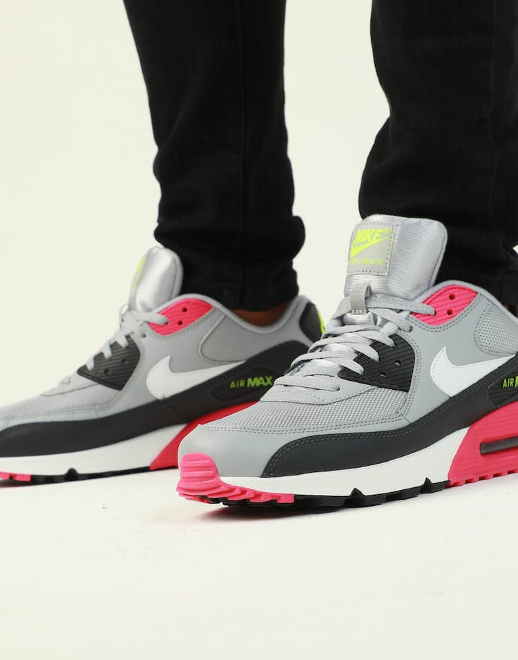best website 697b3 c5a5d Nike Air Max '90 Essential Grey/Pink/White