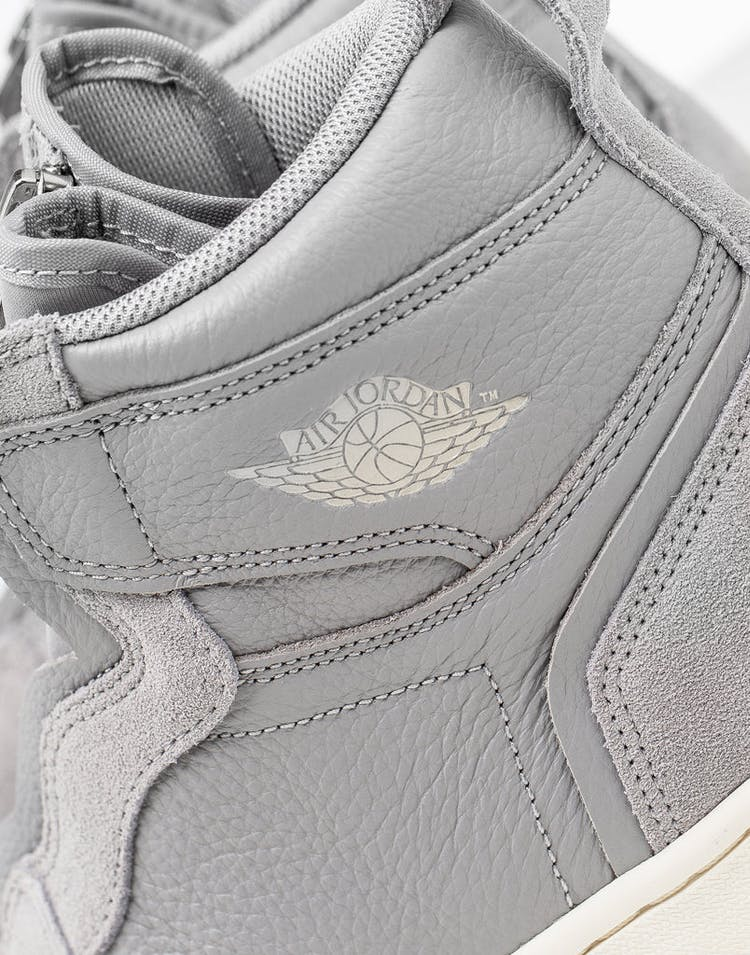 Jordan Air Jordan 1 High Zip Grey/Sand/Ivory