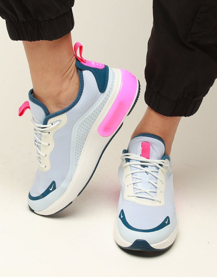 4d7a534385 Nike Women's Air Max DIA White/Blue/Pink – Culture Kings