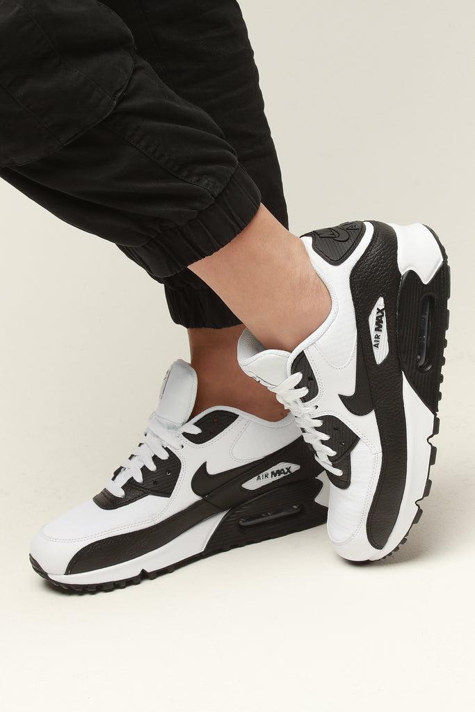 Nike Air Max 90 Womens Black White Online HSiRc, Price