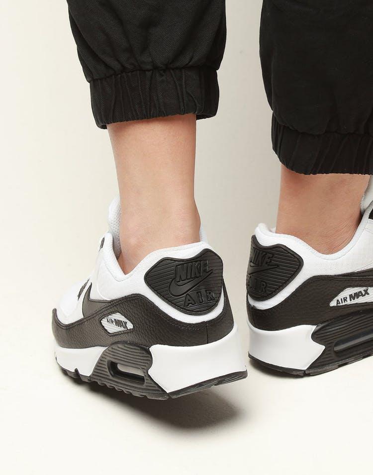 separation shoes 5f569 985c0 Nike Women s Air Max 90 White Black White